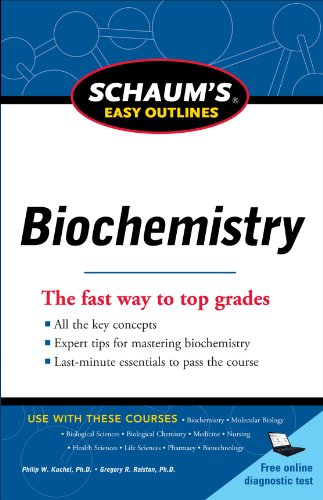 Schaum's Easy Outline of Biochemistry, Revised Edition   2011 edition cover