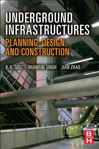 Underground Infrastructures Planning, Design, and Construction  2012 edition cover