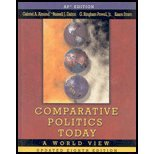 Comparative Politics Today: a World View School Binding 8th 2007 (Student Manual, Study Guide, etc.) 9780131945685 Front Cover