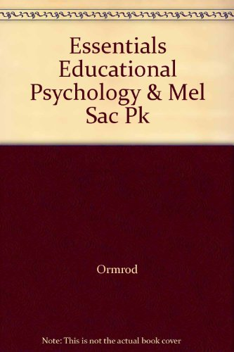 ESSENTIALS OF EDUC.PSYCH.-W/AC N/A 9780132849685 Front Cover