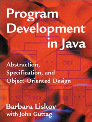Program Development in Java Abstraction, Specification, and Object-Oriented Design  2001 edition cover