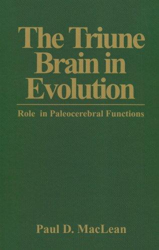 Triune Brain in Evolution Role in Paleocerebral Functions  1990 9780306431685 Front Cover