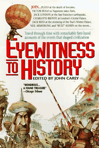 Eyewitness to History  Reprint  9780380729685 Front Cover
