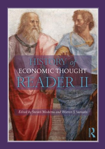 History of Economic Thought A Reader 2nd 2013 (Revised) edition cover