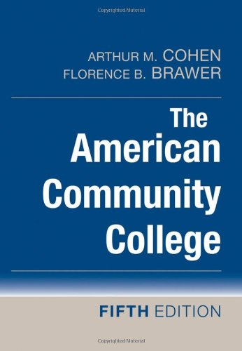 American Community College  5th 2008 9780470174685 Front Cover