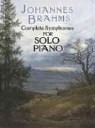 Complete Symphonies for Solo Piano  N/A edition cover