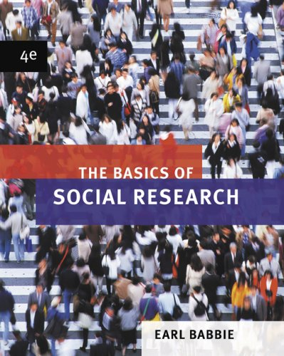 Basics of Social Research  4th 2008 edition cover