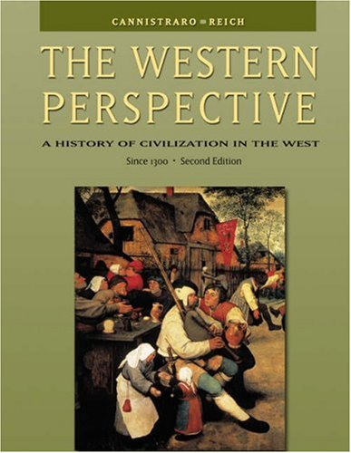 Western Perspective A History of Civilization in the West since 1300 2nd 2004 9780534610685 Front Cover