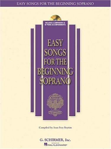 Easy Songs for the Beginning Soprano  N/A edition cover