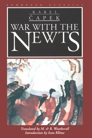 War with the Newts  N/A edition cover