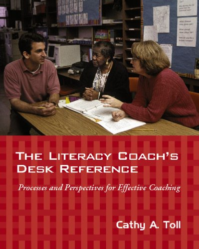 Literacy Coach's Desk Reference Processes and Perspectives for Effective Coaching  2006 edition cover