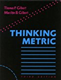 Thinking Metric 3rd 9780874251685 Front Cover