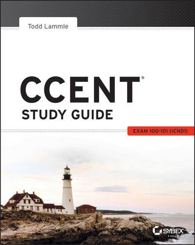 CCENT Study Guide Exam 00-101 (ICND1)  2013 edition cover
