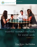 Essential Research Methods for Social Work:   2015 edition cover