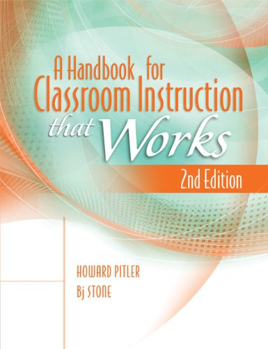 Handbook for Classroom Instruction That Works, 2nd Edition  2nd 2012 (Revised) edition cover
