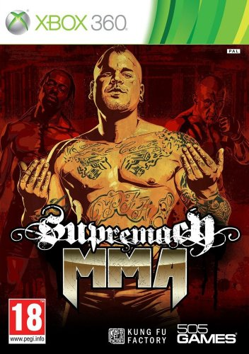 Supremacy MMA (Xbox 360) by 505 Games Xbox 360 artwork
