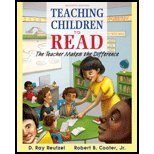 Teaching Children to Read: The Teacher Makes the Difference 7th 2015 edition cover