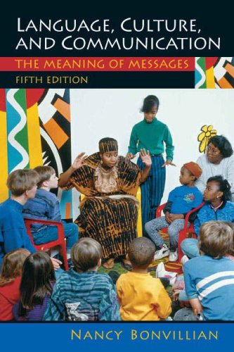 Language, Culture, and Communication The Meaning of Messages 5th 2008 edition cover