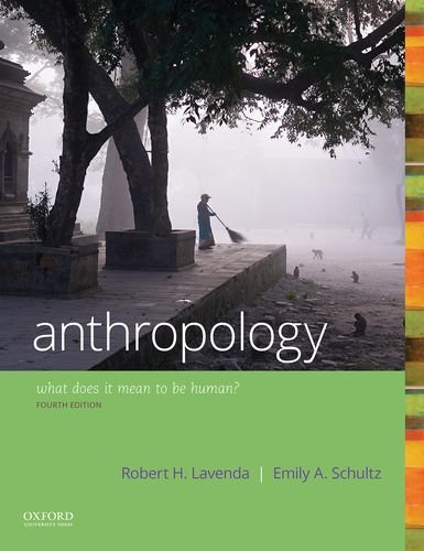 Anthropology: What Does It Mean to Be Human?  2017 9780190840686 Front Cover