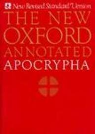 New Oxford Annotated Apocrypha   1991 edition cover