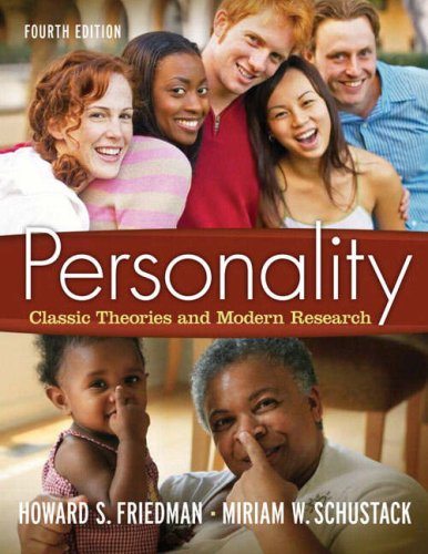 Personality Classic Theories and Modern Research 4th 2009 edition cover