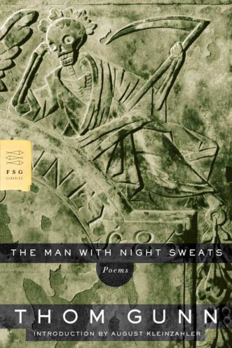 Man with Night Sweats Poems  2007 edition cover