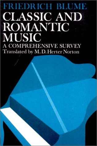 Classic and Romantic Music   1970 edition cover