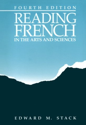 Reading French in the Arts and Sciences  4th 1987 edition cover