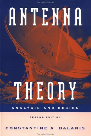 Antenna Theory Analysis and Design 2nd 1997 edition cover