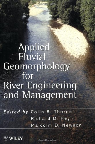 Applied Fluvial Geomorphology for River Engineering and Management   1998 9780471969686 Front Cover