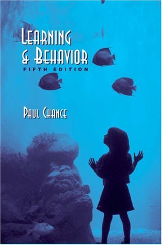 Learning and Behavior 5th 2003 (Revised) edition cover