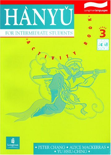 Hanyu for Intermediate Students  1994 (Activity Book) edition cover
