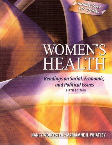 Women's Health Readings on Social, Economic, and Political Issues 5th 2008 (Revised) edition cover