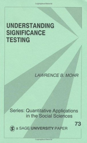 Understanding Significance Testing   1990 edition cover