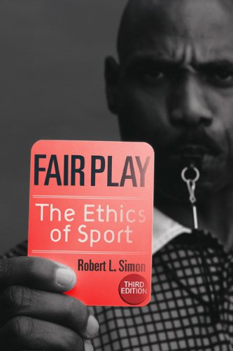 Fair Play The Ethics of Sport 3rd 2010 edition cover