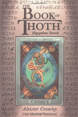 Book of Thoth (Egyptian Tarot) 2nd 1981 (Reprint) 9780877282686 Front Cover