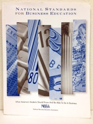 NATIONAL STANDARDS F/BUS.EDUCA 1st edition cover