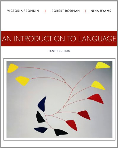 Introduction to Language  10th 2014 9781133310686 Front Cover