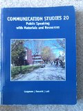 COMMUNICATION STUDIES 20 >CUSTOM<       N/A 9781285116686 Front Cover