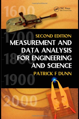 Measurement and Data Analysis for Engineering and Science  2nd 2010 (Revised) edition cover
