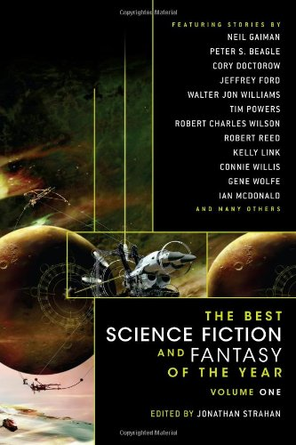 Best Science Fiction and Fantasy of the Year   2007 edition cover