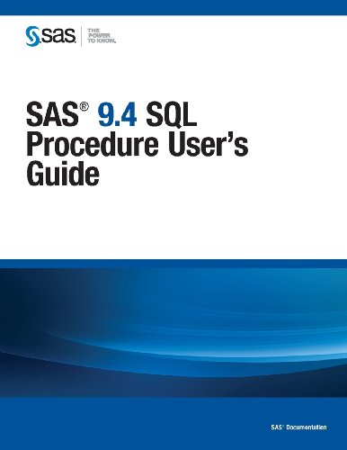 SAS 9.4 SQL Procedure User's Guide  0 edition cover