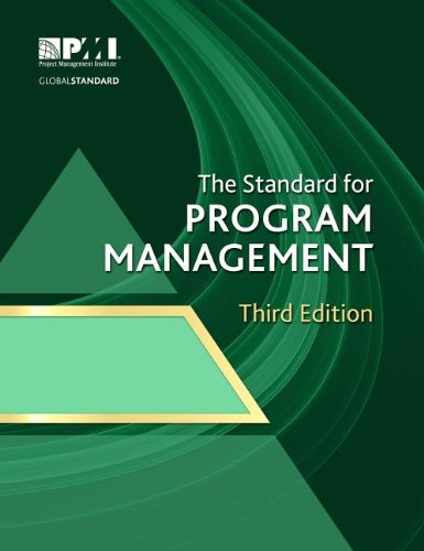 The Standard for Program Management:   2013 edition cover