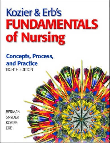 Fundamentals of Nursing Concepts, Process, and Practice 8th 2008 (Revised) edition cover