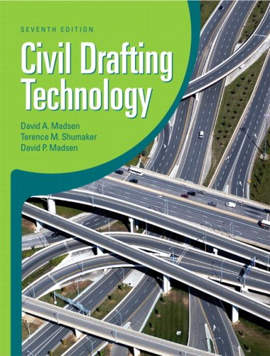 Civil Drafting Technology  7th 2010 edition cover
