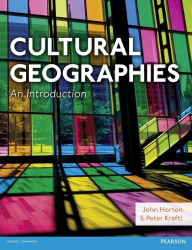 Cultural Geographies   2014 edition cover