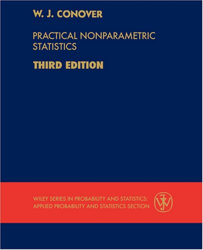 Practical Nonparametric Statistics  3rd 1999 (Revised) 9780471160687 Front Cover