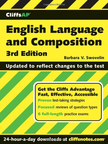 CliffsAP English Language and Composition  3rd 2006 (Revised) edition cover