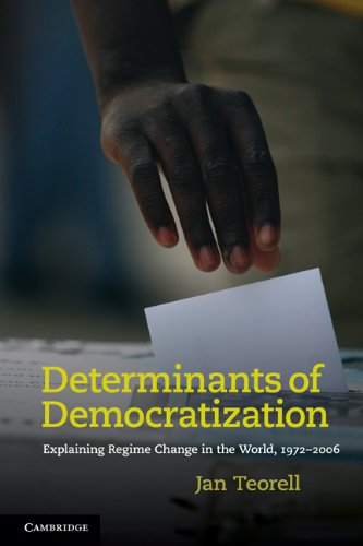 Determinants of Democratization Explaining Regime Change in the World, 1972-2006  2010 edition cover