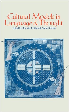 Cultural Models in Language and Thought   1987 9780521311687 Front Cover